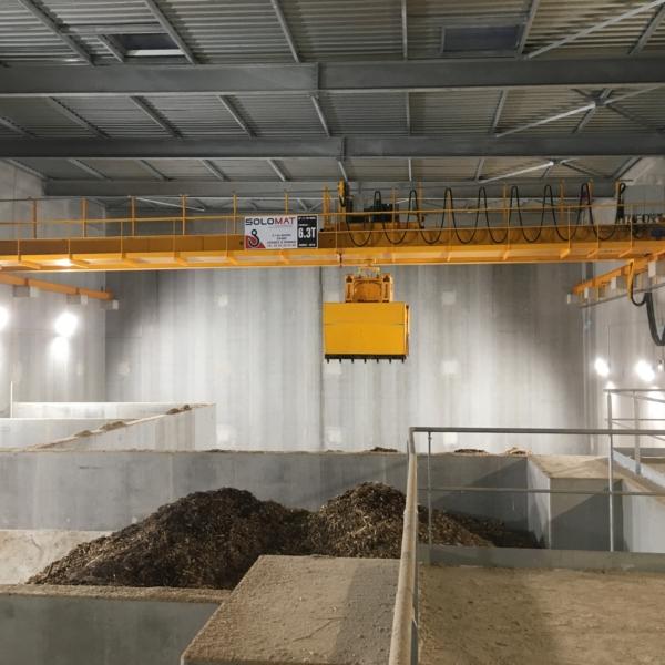 Pince pour silos