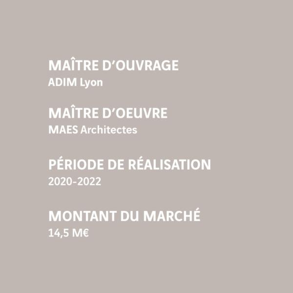 MOUV : ADIM Lyon MOE : MAES Architecture