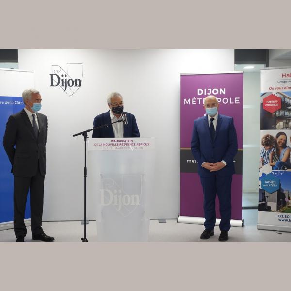 Inauguration Résidence sociale Abrioux pour Habellis à Dijon