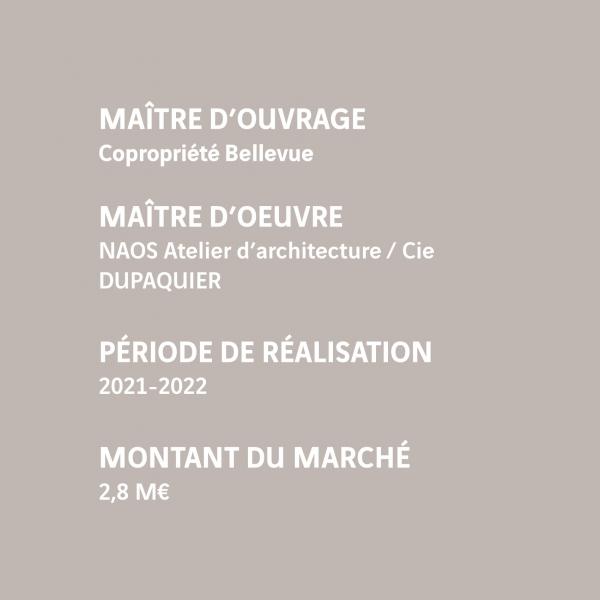 MOUV : Copropriété Bellevue MOE : NAOS / Dupaquier
