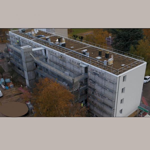 Eco-rénovation C3B pour Orvitis